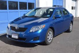 used black toyota corolla for sale edmunds