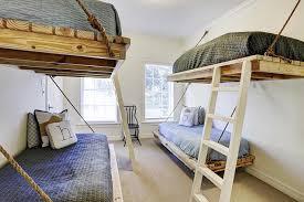 Bunk Bed Coverlets Floating Beds Cottage Boy S Room Har