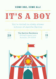 baby shower invitation templates canva