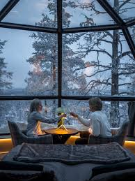 Paid Under The Table These Luxury Glass Igloos Offer The Most Incredible Views Of The