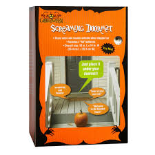 screaming halloween doormat christmas tree shops andthat