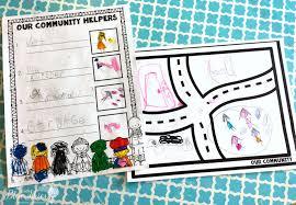 community helper group activity first grade blue skies bloglovin u0027