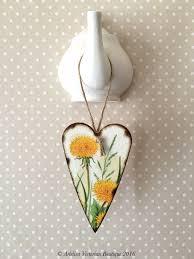 dandelion wood plaques wall 39 best artelisa boutique decoupage hanging hearts