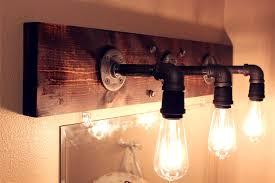lighting fixtures exciting industrial bathroom lighting vintage