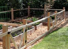 Building A Vegetable Garden Box by A Simple Garden Fence Tilly U0027s Nest