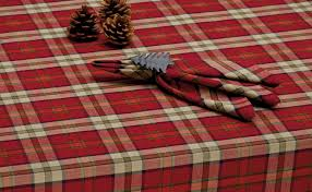 wholesale cfire plaid tablecloth dii design imports