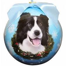 border collie ornaments collection on ebay