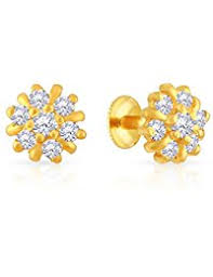 malabar earrings in malabar gold diamonds earrings women jewellery