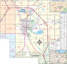 Ohio City Map Map Center Wyandot County Economic Development