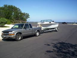 towing weights of fiberglass boats vs aluminum boats using a ford