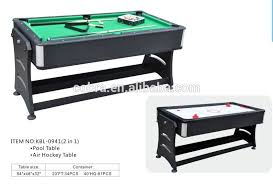 pool and air hockey table kbl 0941 foldable air hockey table and pool table combo buy multi