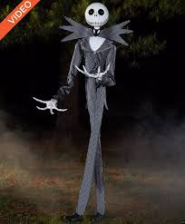jack skeleton halloween spirit halloween unleashes 6 foot tall jack skellington