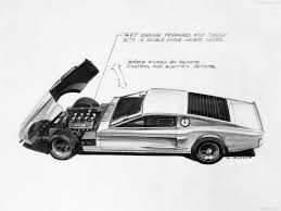 Black 1966 Mustang Ford Mustang Mach 1 Concept 1966 Picture 9 Of 11