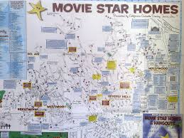 Map Of The Stars Map Of The Stars Beverly Hills My Web Value