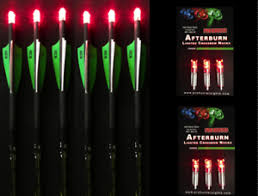 20 crossbow bolts with lighted nocks new 6 victory crossbow bolts 6 red lighted nocks 20 or 22 ebay