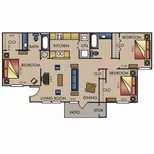 3bed 2bath Floor Plans Available Floor Plans Apartments For Rent In Amarillo Tx