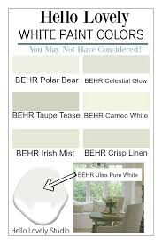 best white behr paint for kitchen cabinets lovely white paint colors you may not considered