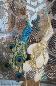 peacock wedding cake topper peacock wedding cake toppers glittery iridescent green teal white