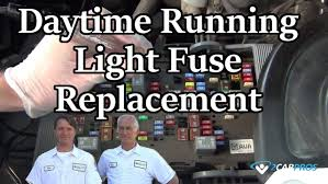nissan altima 2015 daytime running lights daytime running light fuse replacement youtube