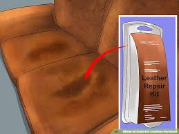 How To Clean A Leather Sofa 3 Ways To Care For Leather Furniture Wikihow