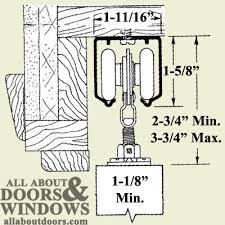 Barn Door Hardware Installation How To Install Acme Series 57 58 Roller Assembly Sliding Door Hardware