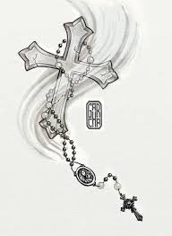 rosary cross design