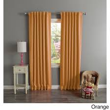 aurora home solid insulated thermal blackout 120 inch curtain