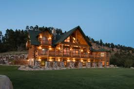 exterior view golden eagle log and timber homes log home cabin pictures photos