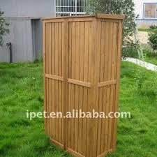 outdoor wood storage cabinet premium large cheap outdoor wooden garden storage cabinet shop for