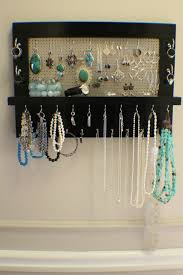 jewelry holder necklace images 25 best ideas about jewelry organizer wall wall jpg