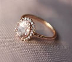 gold and morganite ring morganite ring pink 6 8mm fancy morganite and cut