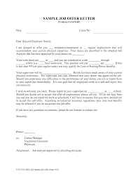 Business Letter Offer offer letter template business letter template