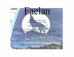 faelan name means wolf namemeans