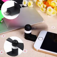 portable fan for iphone mini micro usb fan portable super mute usb cooler for iphone