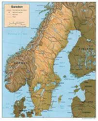 Map Of Germany With Cities And Towns In English by Maps Of Sweden Detailed Map Of Sweden In English Tourist Map