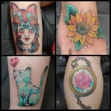 watercolor tattoo artists raleigh mj u0027s color tattoo portfolio at