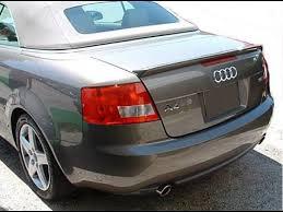 audi a4 spoiler 2003 2008 audi a4 convertible style rear lip spoiler