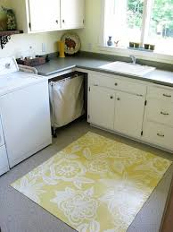 painted kitchen floor ideas painting vinyl kitchen floors