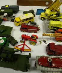 nineteen dinky toys cars trucks and military vehicles sale