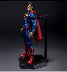 2018 anime model garagekits 12 inch pvc superman model doll