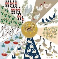 pack of 5 twelve days shelter u0026 crisis charity christmas cards
