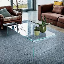 all glass coffee table modern glass coffee table contemporary glass coffee table klarity