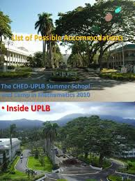 Up Los Banos Botanical Garden by Accommodations In And Near Uplb Dormitory Hotel And Accommodation