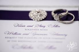 purple and silver wedding invitations alisha dan s purple foil and silver glitter wedding