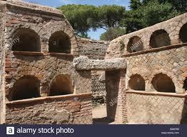 roman art ostia antica harbour city of ancient rome columbarium