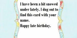 happy belated birthday wishes messages greeting and images