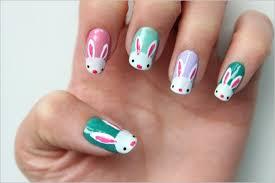 fingernã gel design zum selber machen nagellack osterhasen bunte fingernã gel malen design ideen