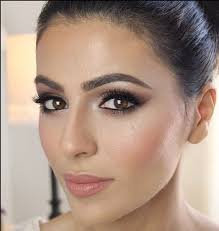 possible wedding day makeup i like the soft pink lip and how blended the blush