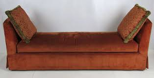 grand scale custom backless sofa daybed for sale at 1stdibs