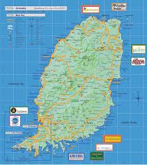 Caribbean Sea Map Grenada Map Of Caribbean Image Gallery Hcpr